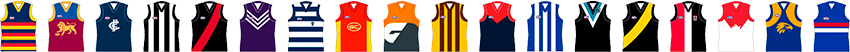 AFL club guernseys